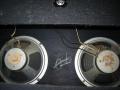 1966- Vox 710-715 cabinet met 2x10 inch ceramic Celestion CT7721 zonder Vox logo.