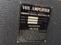 1966- Vox 730 hybride, typeplaatje.