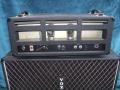 1966- Vox 760 hybride head back, solid state preamp, diode gelijkrichter en eindtrap 1xECC83 en 2xKT88, 60 watt RMS.