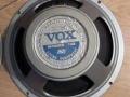 Celestion T.1279 12 inch ceramic speaker als gebruikt in de hybride Vox 430 en 730 uit 1966.