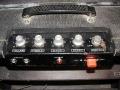 Vox Hybride UL 705, back met Voltage selector 110-230 volt met zekering in de kap.