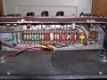 (Red) Lemco condensatoren in AC100 circuit met witte Erie weerstanden.