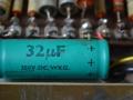 TCC Micromite Green condensator voor AC100 preamp.