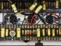 Tagbord JMI AC30 1962 met (gouden) Wima en (yellow mustard) Mullard condensatoren met (witte) Erie weerstanden. 1