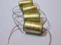 WIMA Tropyfol TFF condensatoren zoals gebruikt door JMI in Vox producten vanaf 1965.