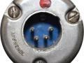 Amphenol XLR 4 pins connector voor mains van AC50 en AC100, vanaf 1963.