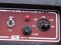 Mainsswitch MKII met korte shaft en geen bal, 1961-1964 en Pill Voltage Selector, insteekplug principe, toegepast tot ca 1964.