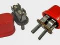 Red Voltage Selectors met geintegreede zekering voor 110-230 volt voor Hybride Vox UL705.