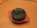 Voltage Selector plat als toegepast in early AC10 en AC15, top.