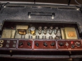 Albion trafo's in Vox AC30 Bass Red Panel 1964.