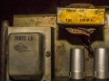 Woden Outputtrafo 76853LX en Coke 76854 (LX =nov 1966 ) in Vox AC30TB 1967.