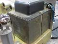 Merkloze verzwaarde Outputtrafo met zwarte merkloze deksel voor AC100-2.