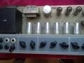 Zwarte merkloze Output Trafo in AC30 TB Reverb VSEL 1968-1969, mogelijk van Italiaanse makelij.Post-JMI model.