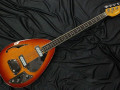 Bill Wyman Style Bass VBW 2500, Amber,  50th Anniversary, Limited Edition , Japan 2008, front.