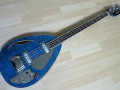 Bill Wyman Style Bass VBW 2500, Whale Blue, 50th Anniversary, Limited Edition , Japan 2008, front.