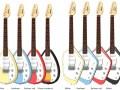 Mark Teardrop V- MKIII en Mark Phantom V- MKV serie gitaren 2013.