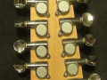 Mini XII 12 string Sunburst made by North Coast Music USA 1998-2001, headstock  back met serienummer en Custom Shop label.