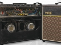 2017 Vox AC30HW60 60th Anniversary UK Handwired, open back en frontview.