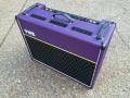 Top Korg Marshall AC30 TBX Purple 1996, black panel. Officiele Limited edition serie van 146 stuks.