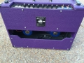Back Korg Marshall AC30 TBX Purple 1996, black panel. Officiele Limited edition serie van 146 stuks. Blue Alnico Celestion speakers.