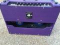 Back Korg Marshall AC30 TBX Purple 1996, black panel. Officiele Limited edition serie van 146 stuks. Blue Alnico Celestion speakers.
