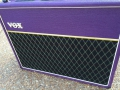 Front Korg Marshall AC30 TBX Purple 1996, black panel. Officiele Limited edition serie van 146 stuks.