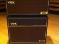 Vox AC30 HWH Marshall head met CV212 LTD cabinet met 2 Celestion Blue Alnico 12 inch UK reissue speakers.