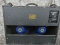 Back Black Vox Limited Edition TBR 1991, ter gelegenheid van de 30th Anniversary. Oorspronkelijke JMI circuit uitvoering. Met ondersteuning van Dick Denney in nieuw jasje geproduceerd bij Precision Electronics. Fane Blue speakers.