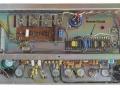 Blik op onderzijde chassis Vox AC30 TB Rose Morris model, deze met een Reverb sectie.