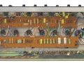 Tagstrips weer terug in Vox AC30 TB Rose Morris model, zij het in lichtere uitvoering.