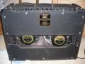 Back Vox AC30 TB Rose Morris model, Fane speakers met Vox label, Dallas productie.