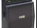 Vox Concert 100 stack, geproduceerd bij Audio Factors 1987-1989. Vermogen 100 watt buizen RMS. Te gebruiken met 2 gestapelde 4*12 inch cabinets als Marshall. Deze types zijn van weinig betekenis voor de sound van The Shadows.