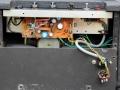 Techniek Vox Escort Battery in Rose Morris uitvoering 1979-1983. De power is hier later gemodificeerd naar Euro stekker en 12 v accu aansluiting.