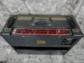 Back Black Vox Limited Edition TBR 1991, ter gelegenheid van de 30th Anniversary. Oorspronkelijke JMI circuit uitvoering. Met ondersteuning van Dick Denney in nieuw jasje geproduceerd bij Precision Electronics. Celestion Vintage 30 speakers.