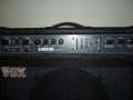 Display Vox Q-Series Lead 100 1988. Geproduceerd bij Precision Electronics.