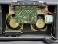 Vox Super Twin. Zicht op transistor techniek, links galmveerunit.