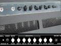 Grey panel Vox V125 1982 Climax Combo 125 w, 5 bands equalizer.