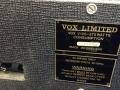 Typeplaatje Vox V125 1982 125 w.