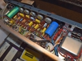 Circuit Vox V15 combo van boven.
