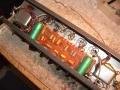 Circuit Vox V15 combo van onder.
