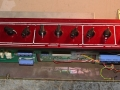 Open Vox Limited Edition TBR 1991 Red panel. Geproduceerd bij Precision Electronics.