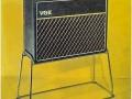 Vox catalogus 1964 met Rigid tube stands voor AC30.