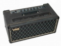 Vox AC 50/4 MK3 - JMI front. Groot dik cabinet met zwart doek en Grey panel vanaf medio 1964 en Dome Voltage Selector.