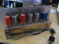 Preampsectie Vox Metal Clad PA 50/4 versterker, 4 buizen ECC83.