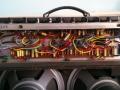 Vox AC30 TB Reverb VSEL model 1968-1969, met Tagstrips en onderhangende power trafo.