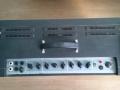 Vox AC30 TB Reverb VSEL model 1968-1969, top met dubbele vents, overbelicht grey panel met 5 inputs en fabrieks Reverb.