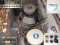 Vox AC30 TB Reverb VSEL overzicht model 1968-1969 met 5 inputs en Accutronics Reverb. Fane speakers met Vox Sound Limited label.
