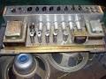Vox AC30 TB VSEL laat model 1970, JMI stijl chassis met GZ 34 en verschroomde inputs. Lemark trafo's.
