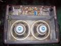 Vox AC30 TB VSEL laat model 1970, open back met Celestion T1088 speakers met VSEL label.