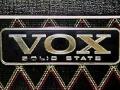 Vox logo voor transistor modellen VSEL.